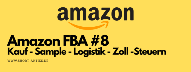 Amazon FBA Steuern Sample kauf logistik