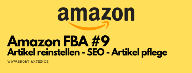 Amazon FBA SEO