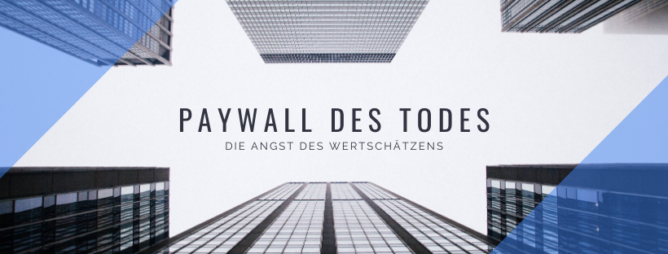 Paywall des Todes
